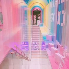 aesthetic kawaii space bedroom rooms pastel pink grunge backgrounds neon dreamy retro girly gru trendy