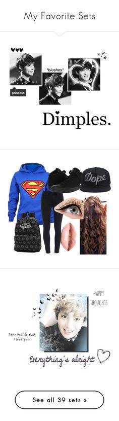 """""""My Favorite Sets"""" by samanthaking-plouff ❤ liked on Polyvore featuring art, howischairahbtw, InMyHeart, nixingisreal, isforever, chairahslove, Paige Denim, Vans, Converse and Luminess Air"""