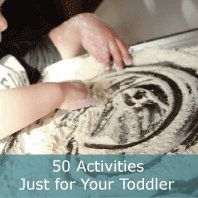"Great ideas.  As a parent of three kids, 24,22 and 3, I'm learning, (albeit slowly), to slow down and take the time to play.  I always thought there would be ""tomorrow"" with the first two.  Tomorrow came and now they are grown.  30 Creative Craft and Art Projects for your Toddler 