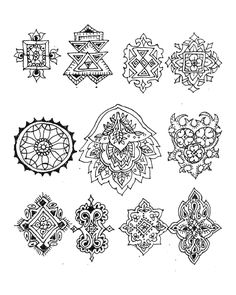 Mehndi and again Henna Patterns, Zentangle Patterns, Zentangles, Mehndi Drawing, Henna Pictures, Drawing Letters, Henna Artist, Henna Mehndi, Mehndi Designs