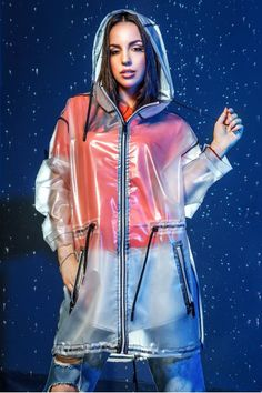 """Дождевик """"Рейна"""" Latex Fashion, Fashion Models, Fashion Outfits, Gothic Fashion, Womens Fashion, Vinyl Raincoat, Pvc Raincoat, Rainy Day Fashion, Everyday Fashion"""