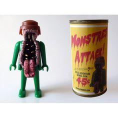 Des entrailles de la terre... Attaquent les monstres !