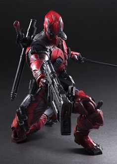 Square Enix Play Arts Kai Marvel Universe Variant 1/7th scale Deadpool Action Figure