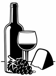 Darice Embossing Folder CHEESE AND WINE - Brand new