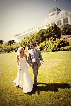 Brides Michigan Wedding Venue Grand Hotel