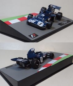 1:43 Scale Model of TYRRELL 006 - 1973 F1 Racing car. Want to see more detail pictures? Click on the image to see more.