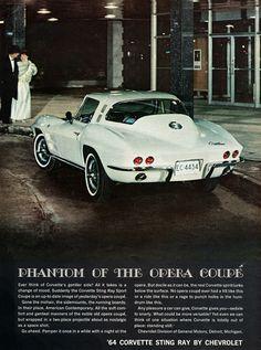 Chevrolet Corvette 1964 Phantom Of The Opera - Mad Men Art: The 1891-1970 Vintage Advertisement Art Collection