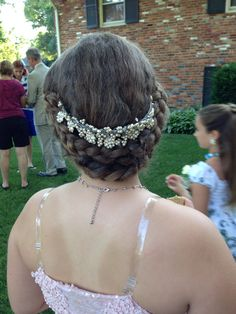 Hair from Father Daughters dance.   Summer 2014