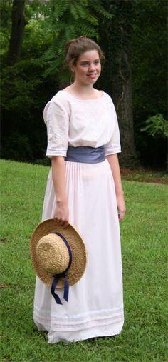 1914 Afternoon Dress | Sense & Sensibility Patterns - Mommas dress - in tea length please