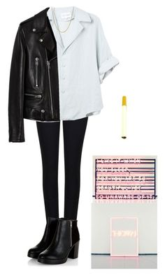"""""""Matty Healy Inspired"""" by broken-scene-queen on Polyvore featuring Armani Jeans, Yves Saint Laurent and David Yurman"""