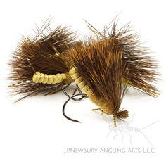 Newbury;s Fluttering Golden Stone #8 #flyfishing #flytying