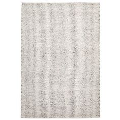 Vaasa Grey Felted Wool Hand-Knotted Rug