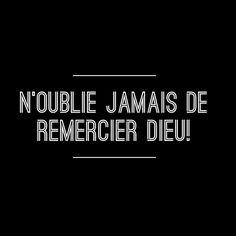 #prière #merci #reconnaissant #Dieu