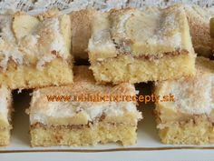 Koláče na plechu Krispie Treats, Rice Krispies, Cornbread, Ethnic Recipes, Desserts, Millet Bread, Tailgate Desserts, Deserts, Postres