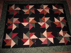 Kansas Winter lap quilt