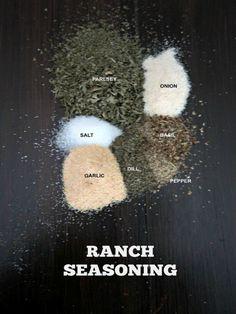 DIY Ranch Seasoning: