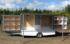Mobile shop Truck Store, Camper Store, Boutique Mobiles, Mobile Fashion Truck, Mobile Craft, Stall Display, Mobile Shop, Mobile Bar, Tiny Shop