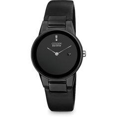 Citizen Axiom Black/Sliver Hands Watch, Ladies
