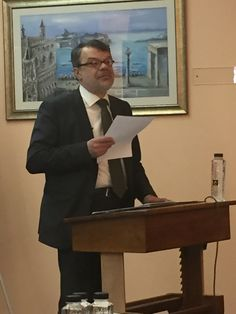 Prof. Daniel Barbu from the University of Bucharest @ Ecclesiology & Ethnography Conference!
