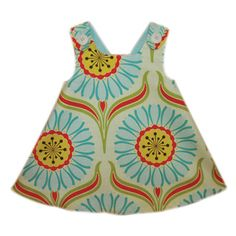 If I saw a baby in this dress, I would have a permagrin all day!