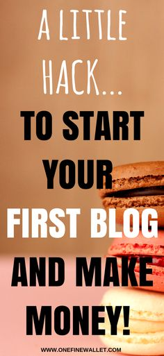 Learn how to start your first blog and make money online in 2018 and beat those nerves! #makemoneyblogging #startablog #makemoneyonline #blogging