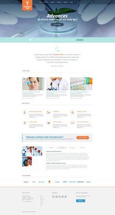 Science Lab - WordPress Theme