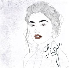 digi drawing of liza soberano! • happy birthday to her tomz! • more artworks on my instagram @jayze.king #lizasoberano #filipino #lizquen #digitalart #minimalist #drawing #originalart #illustration | lizquen original artwork | liza soberano original artwork  | digital illustration