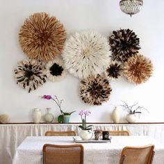 Feather Headdresses as Wall Art