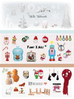 #design3000 Weiße Weihnacht, Funky X-Mas oder lieber DIY Weihnacht? #xmas #deco
