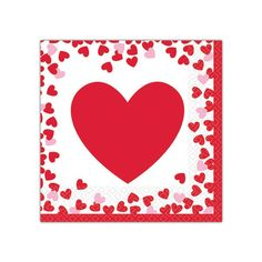CostumeBox offers quick delivery and the best prices for Costumes and Party Accessories. Looking for Valentines Day Confetti Hearts Lunch Napkins Pack of It's only Beverage Napkins, Party Accessories, Cupid, Valentines Day, Beverages, Create, Heart, Cards, Fun