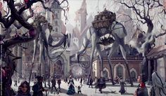 snow steampunk environment - Google Search