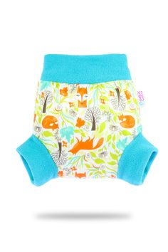 Foxes – Pull-Up Cover   Petit Lulu