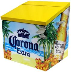 Gotta keep the beer chilled somewhere for the micheladas Corona Beer, Westminster, Malta, Ontario, Coolest Cooler, Brewery, Toy Chest, Chill, Model