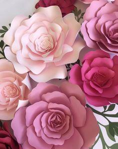 Paper Flower KIY Kits by PaperFlora | PaperFlora