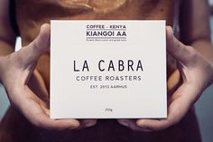 La Cabra Coffee Roasters, Packaging Design by Christian Forman Ankjaer & Mikkel Selmer