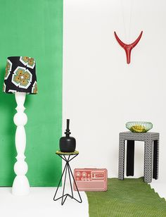 Culture on Display --- Take your decor cue from the graphic colours and patterns of Mzanzi's (South Africa) hottest fashion designers. African Interior, Lampshade Designs, Interior Photography, African Design, Elle Decor, Decorative Items, Color Mixing, Decoration, Photos