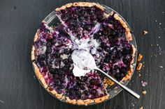 Make and share this Blueberries and Cream Pie With No Roll Pie Crust recipe from Food.com.