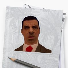 Bean' by Unbeatable Apparel as a Sticker, Transparent Sticker, or Glossy Sticker Mr Bean, Transparent Stickers, Glossier Stickers, It Works, Art Prints, Printed, Awesome, Artist, People