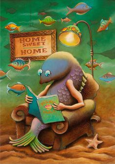 Fishy Fables by Jackson Dainty