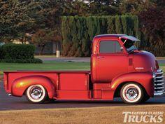 coe truck   1952 Chevrolet Coe Side