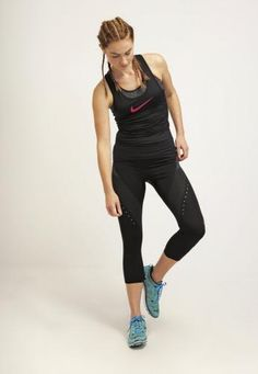 #Nike performance pro hypercool limitless Nero  ad Euro 44.00 in #Nike performance #Donna saldi sports