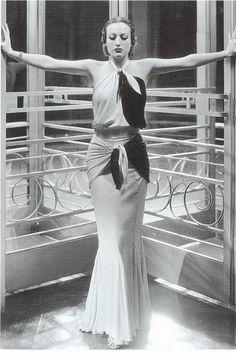 Joan Crawford inLettie Lynton, 1932    Dress by Gilbert Adrian