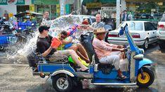 Songkran is an annua