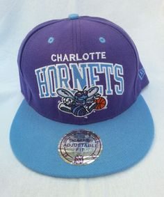 Charlotte Hornets NBA Mitchell & Ness Snapback Cap Hat Basketball Hip Hop Unisex in Clothing, Shoes, Accessories, Men's Accessories, Hats | eBay!