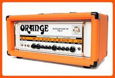 Orange Amplifiers Rockerverb 100 MK II 100W Tube Guitar Amp Head Orange - Audio gadgets (*Amazon Partner-Link)