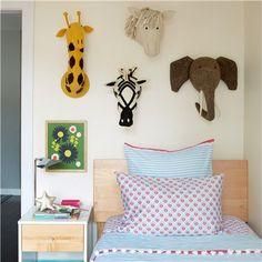 Fiona Walker England Zebra Head Wall Decor #laylagrayce