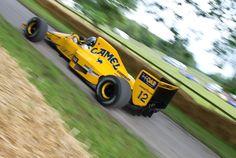 F1 Lotus Lamborghini the eardrum popper