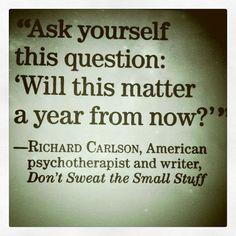 Zeptejte se sami sebe: Bude na tom za rok záležet? #citatdne
