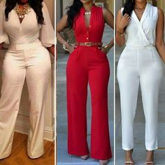 So freaking cute Fall Fashion Outfits, Sexy Outfits, Stylish Outfits, Couples African Outfits, African Fashion Dresses, Jumpsuit Outfit, Dress Pants, Classy Dress, Beautiful Outfits