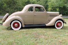 1935 FORD RUMBLE SEAT COUPE ALL STEEL, ALL ORIGINAL AND RESTORED